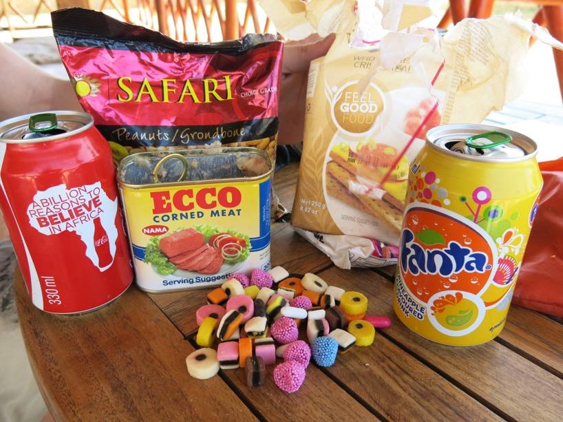 Den ultimata lunchen.. Den innehåller ju i alla fall olika färger =)