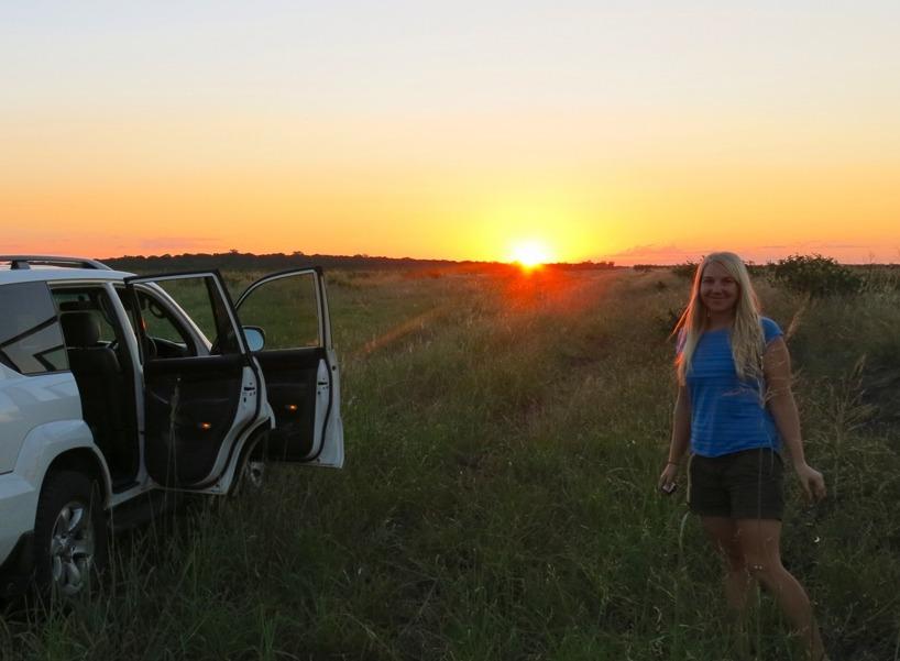 Finns inget som slår afrikanska solnedgångar!