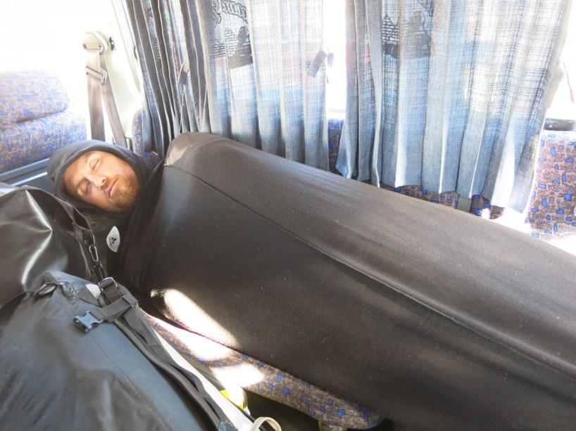 ... medan Rasmus tog det lite lugnare och sov som en död gris!