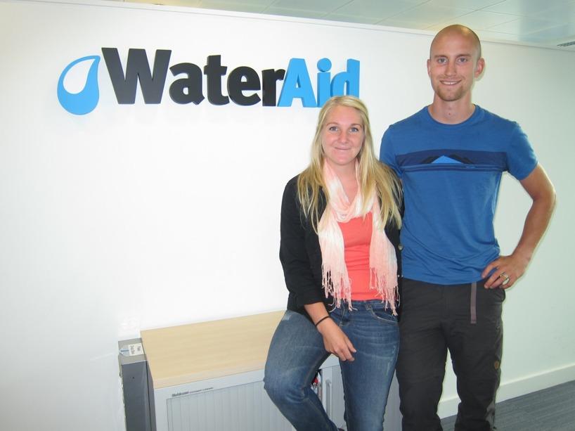 Vårt besök hos WaterAid UK! Nu får vi hålla tummarna att det leder någonvart!