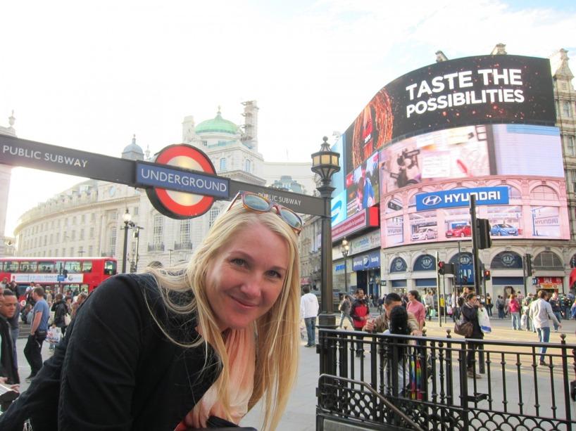 Piccadilly Circus och dess reklam!