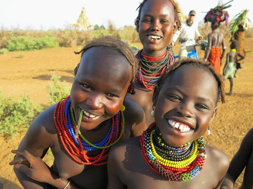 Titta in i kameran och le!
