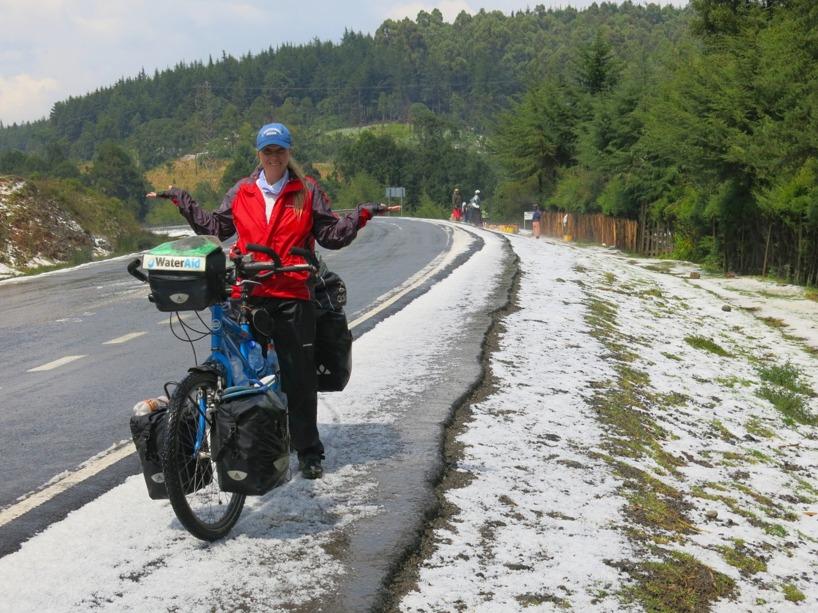 Vad är detta? Norge, nej, DET ÄR KENYA! Något är fel på klimatet!
