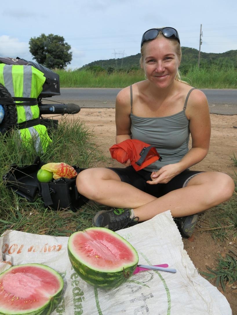 Mumsiga vattenmeloner!