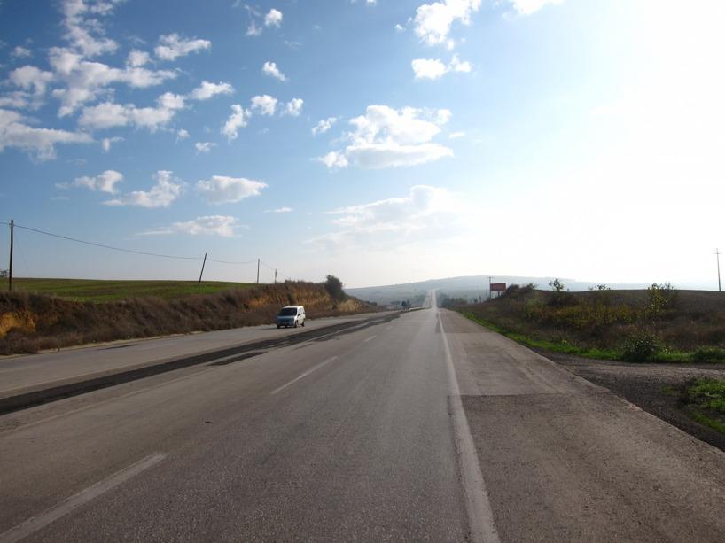 Turkiet innehåller få platta sträckor - men många kullar!