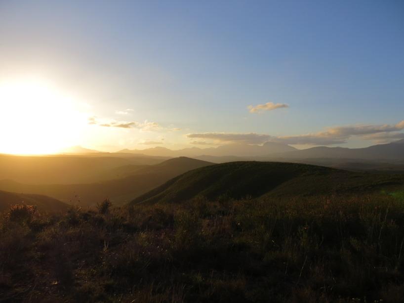 Resor runt om i världen bjuder alltid på vackra solnedgångar!