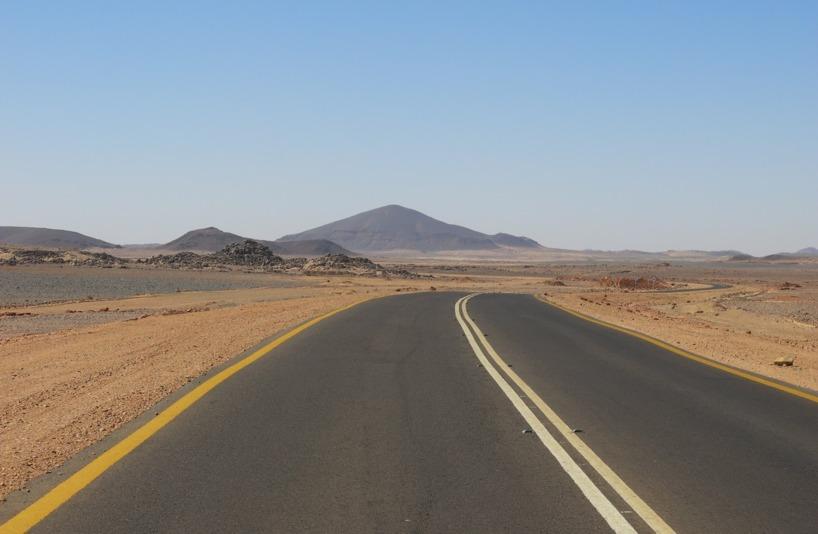 Tredje dagen i sadeln i Sudan