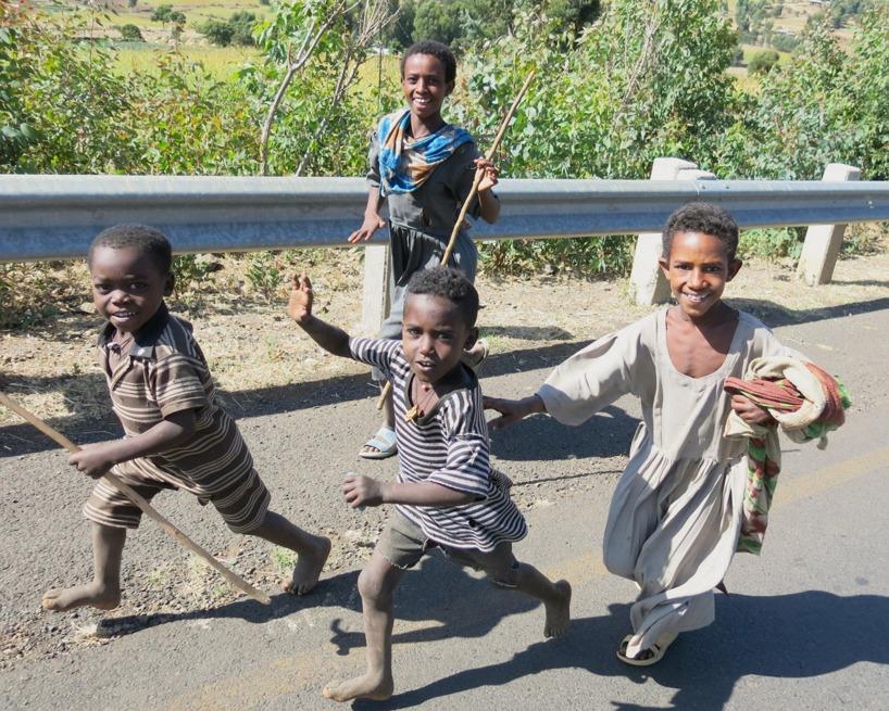 Dessa ungar är av den snälla typen =)