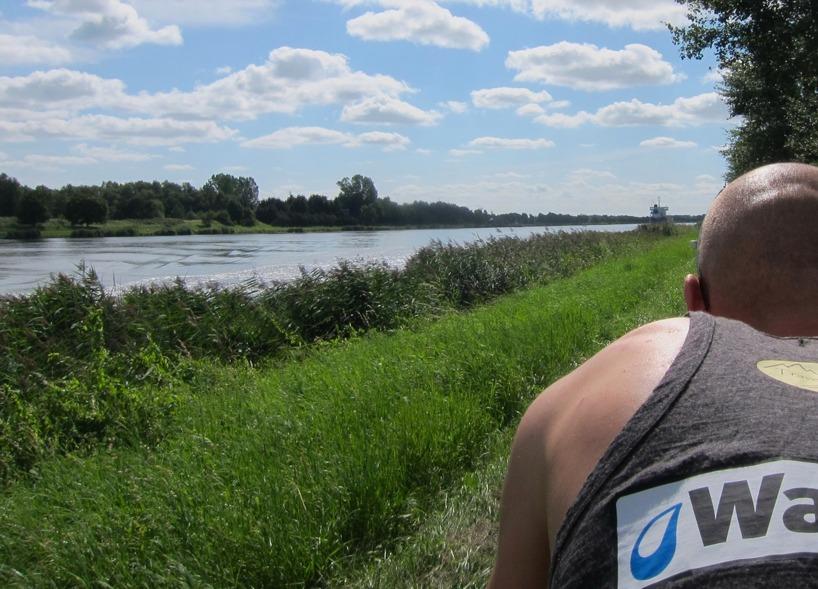 Tyskland (September) - På cykel längs kanaler!
