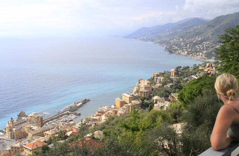 Italien (Oktober) - Ett land vi har blandade känslor för! Men italienska Rivieran föll oss i smaken!