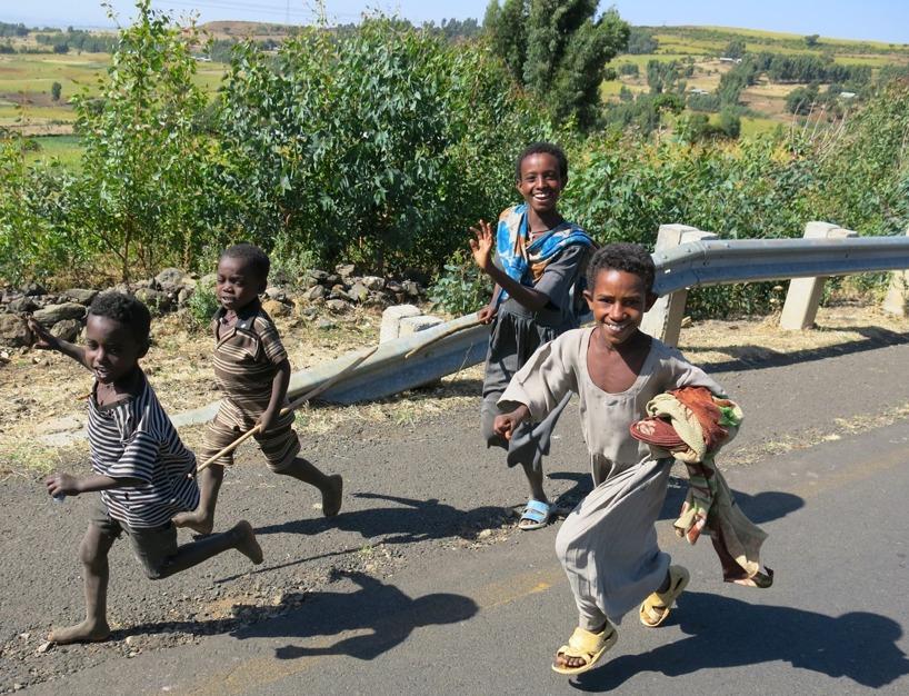 Etiopien (December, Januari) - En månad med psykisk terror! Men landet som berörde oss mest!