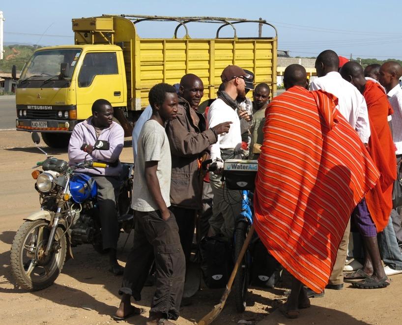 Kenya (Januari, februari) - Möte med olika kulturer är bland det häftigaste på hela resan!