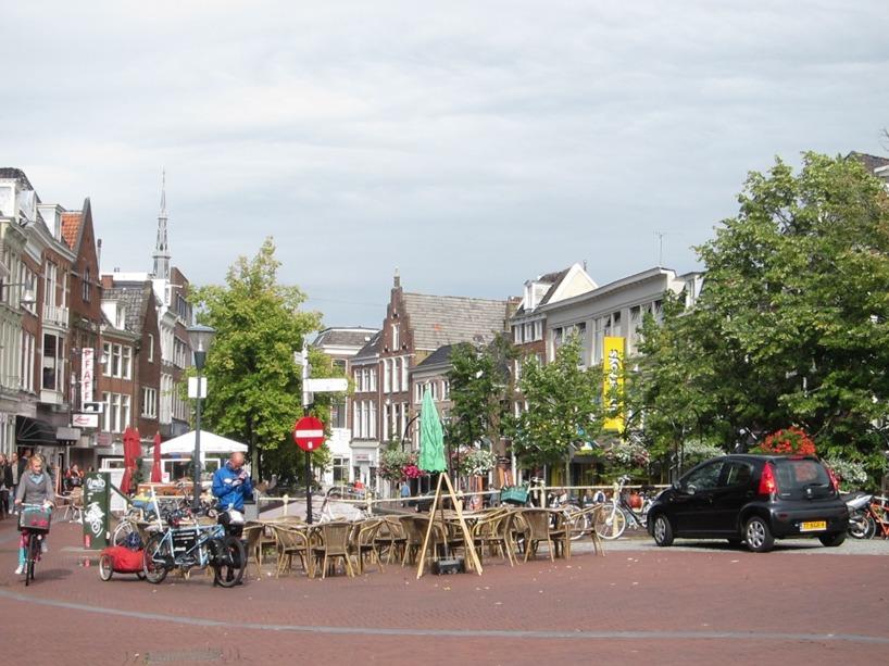 Ett soligt Leeuwarden anlände vi till =)
