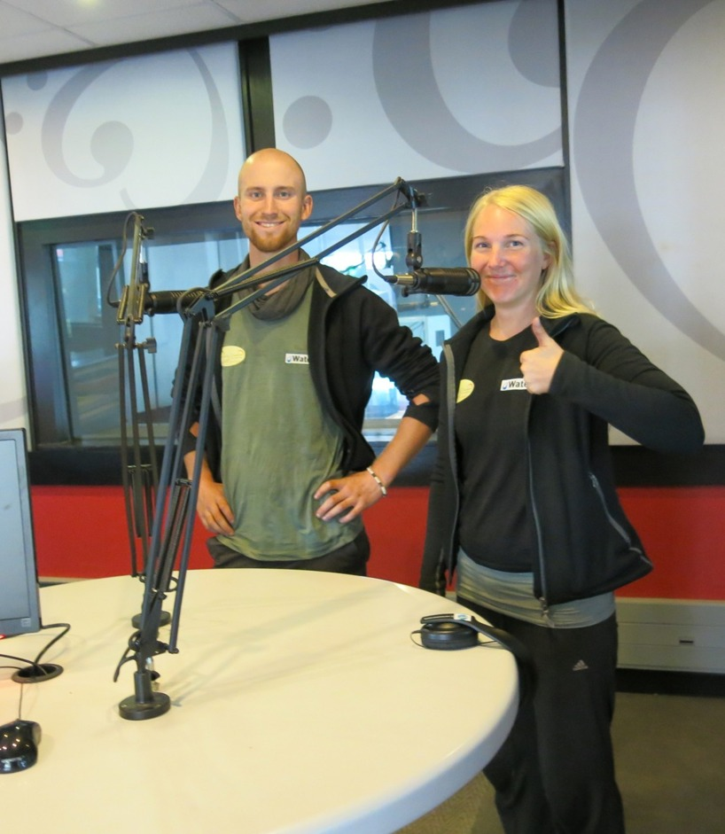 Redo för intervju efter lunchen med Radio Smile 90.4 FM!