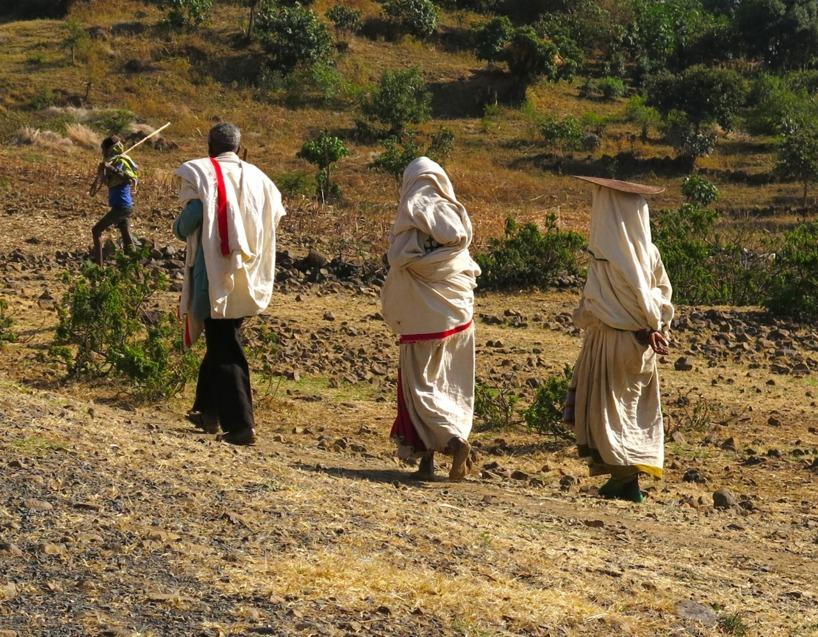 Präster från den Koptiska kyrkan