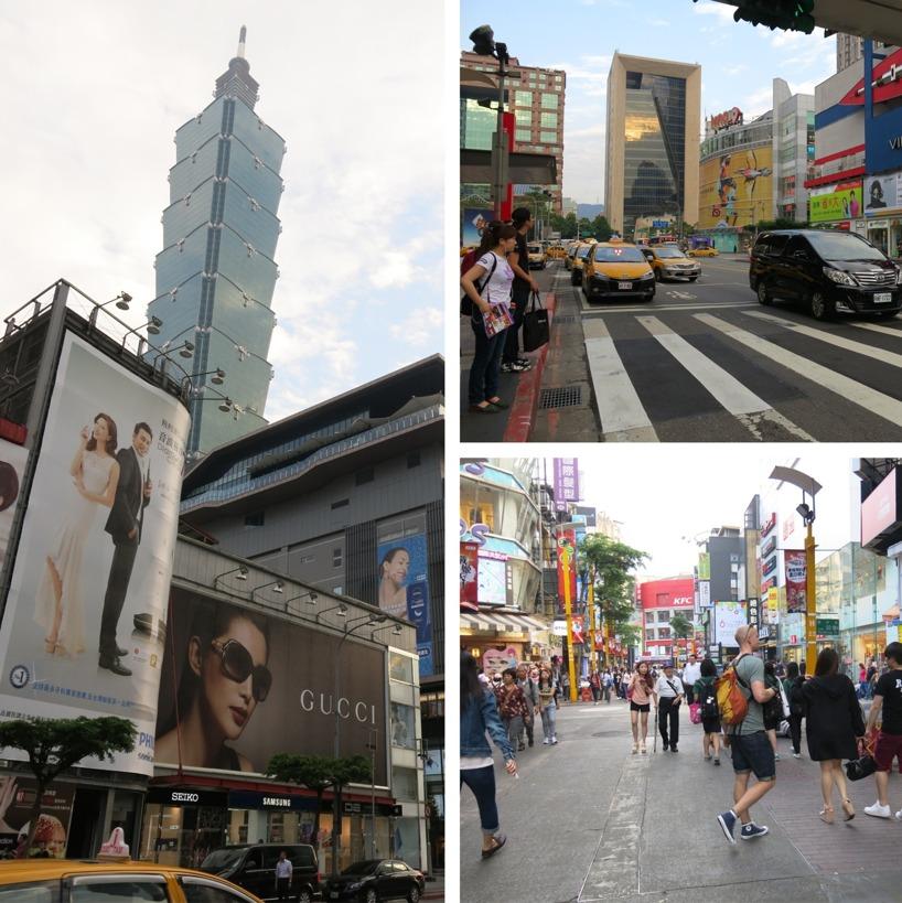 Runt Taipei 101 finns betydligt dyrare butiker!