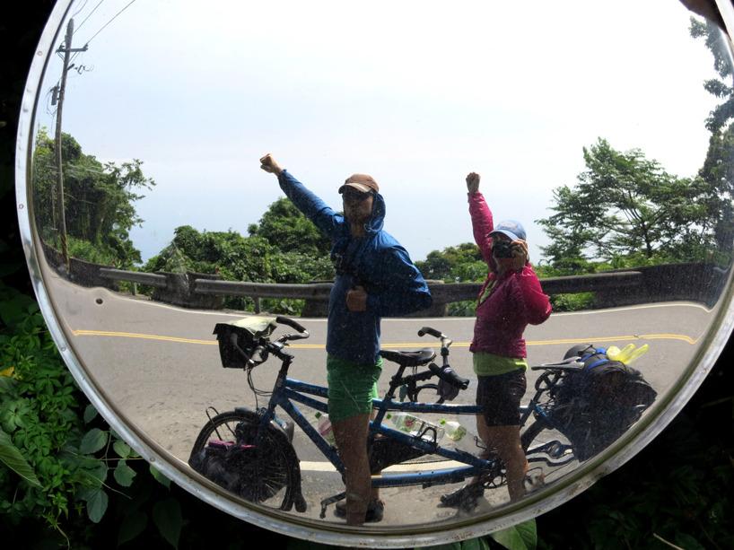 Nästan framme i Hualien och vilodagar från sadeln!