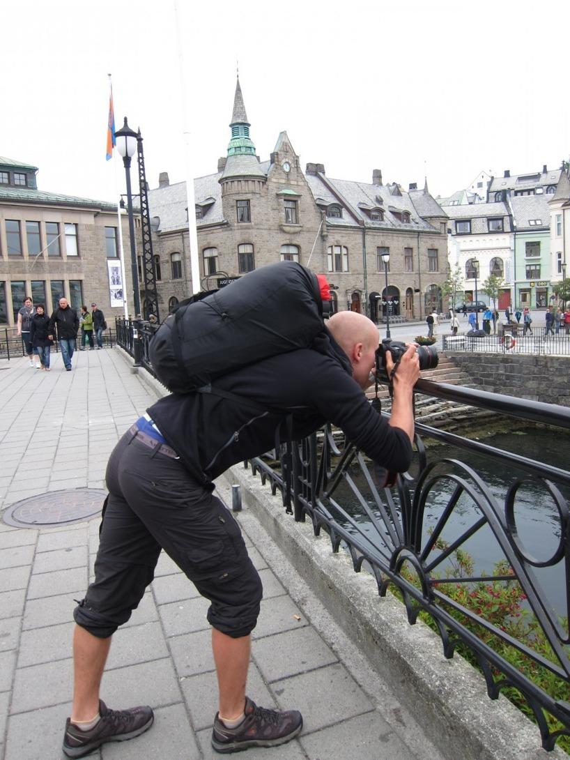 Kamerorna gick varma i Ålesund,. Rasmus gick in hårt för konsten :)