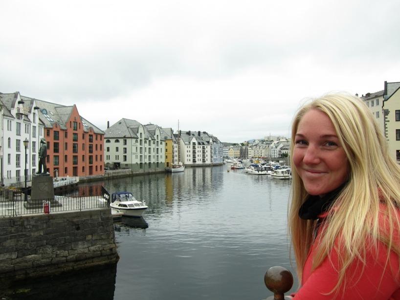 Sussie njuter i Ålesund