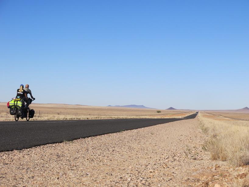 På väg ner mot gränsen till Sydafrika!