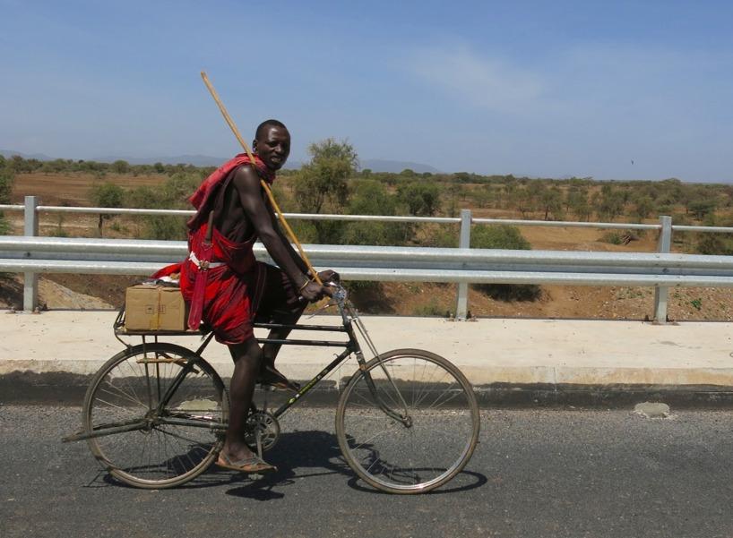 Den cyklande masajen!
