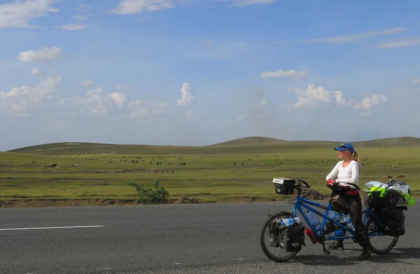 Ett tag trodde vi att vi kommit till Mongoliet...