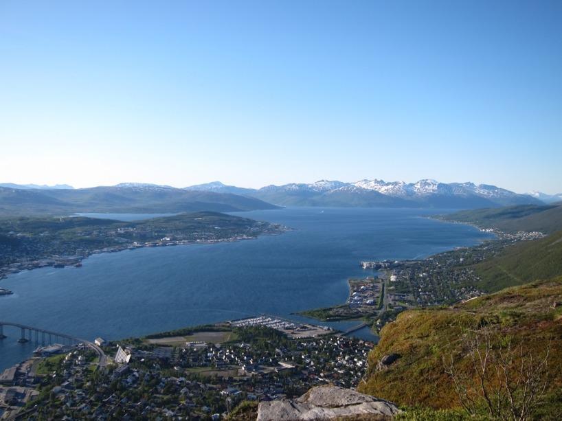 Det är vackert i Tromsö!