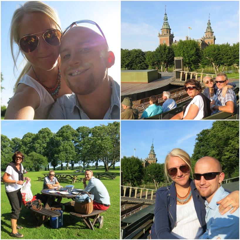 Där vi blev bjudna på picknick och dödsrolig show på Marsvinsholms slott!
