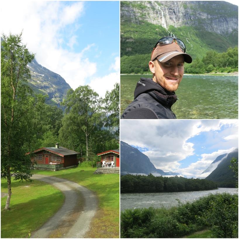 Rasmus drog iväg och fiskade en vecka i vackra Sunndalsöra i Norge.
