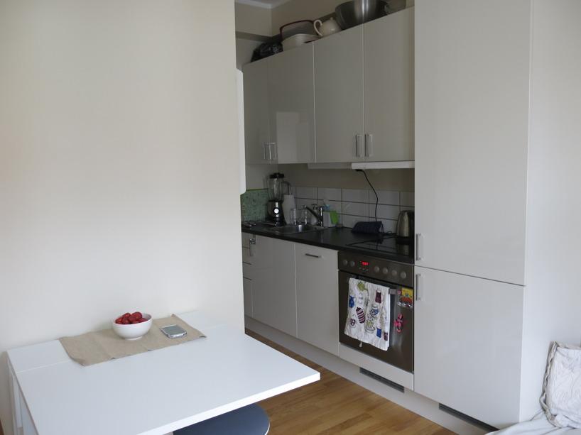 Vår första egna lilla lägenhet på 35kvm :) Lycka!