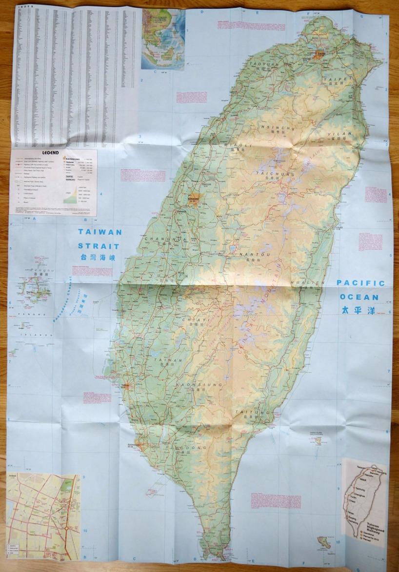 Vi landar med flyget i Taipei som ligger i norra Taiwan och därefter ska vi cykla runt ön och inleder med östkusten ner =)