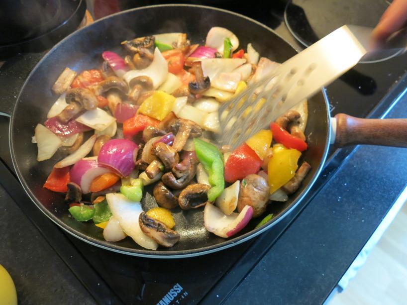 Krispiga grönsaker med härliga färger! Både billigt, gott och fullt av antioxidanter!