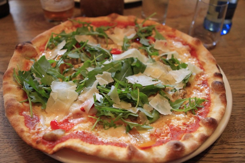Ljuvlig pizza till huvudrätt