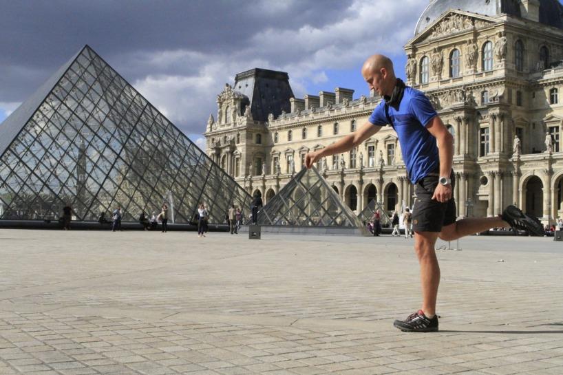 Vi lekte lite med Louvren idag :)