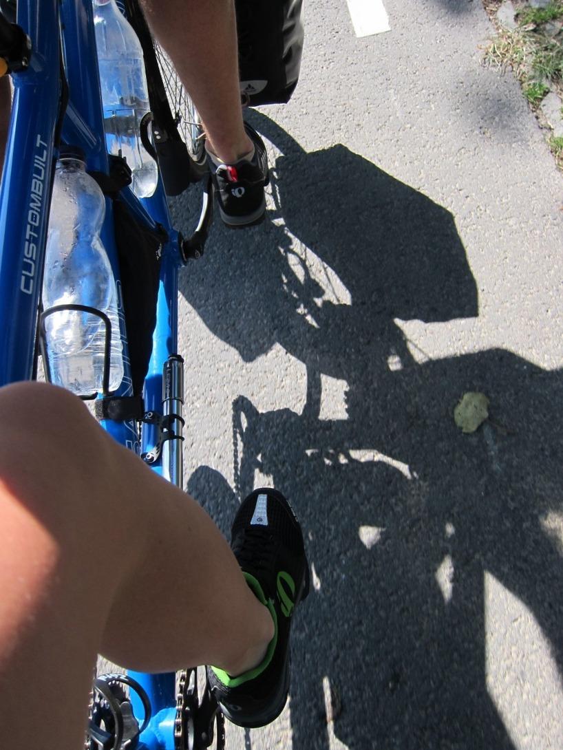"Vår nya ""custombuilt"" nya cykel"