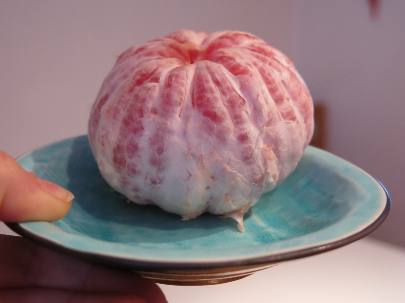 En halv grapefruit varje morgon!
