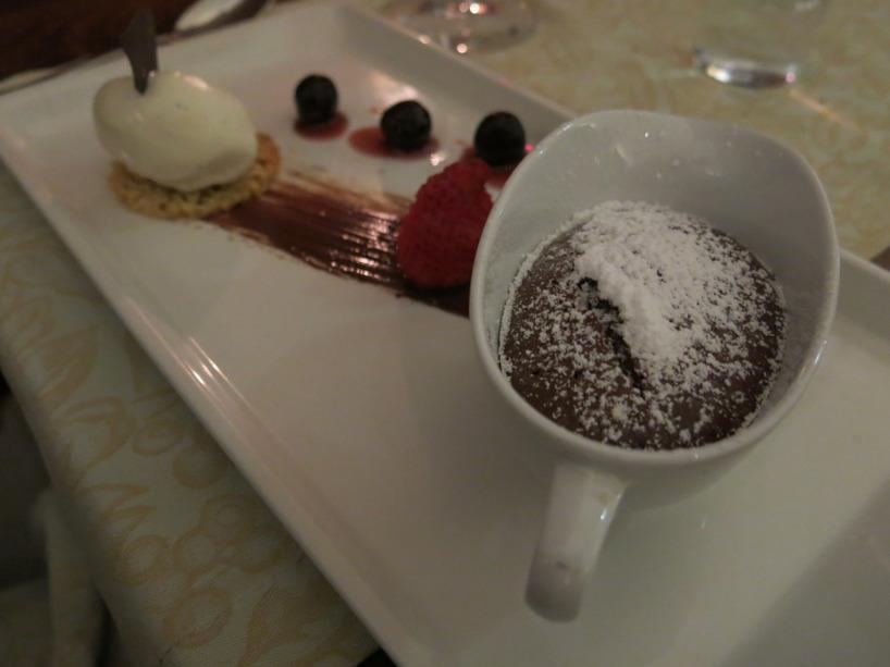 Världens torraste Choklad-fondant! :(