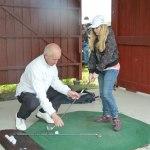 Öppen golfdag 9