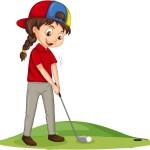 golfbild animerad