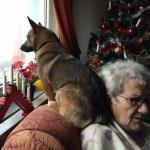 Kira 8 mån. & mormor Luiza
