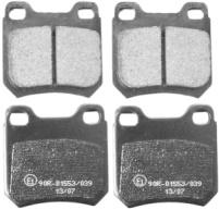 Bromsbelägg bak SAAB 900 II, 9-3, 9-5
