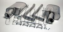 Audi A4 1.8T (B6)<br>A4 Cabriolet 1.8T/2.0TFSi (B6/B7)<br>Bakre ljuddämpare