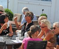 Gruppdiskussioner på sommarmötet 2014. Foto Christer Wallentin