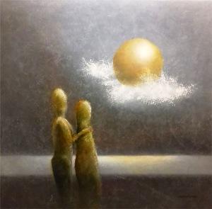 Målning av Anders Nilsson