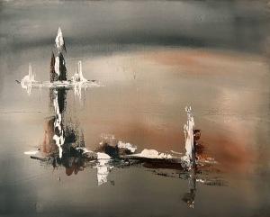 Målning av Annika Janfjord.