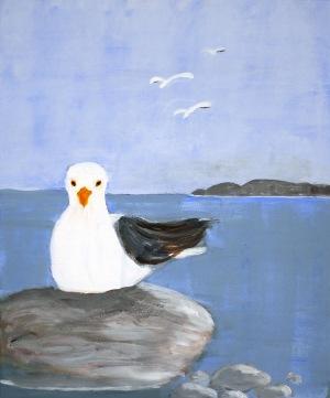 Målning av Kajsa Jeppsson