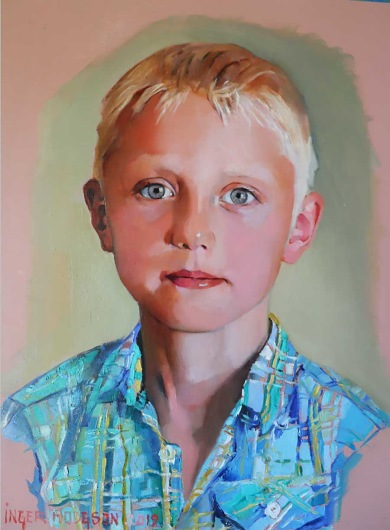 Målning av Inger Hodgson.