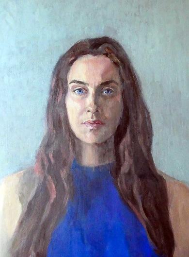 Målning av Annika Ceberg Lindström.