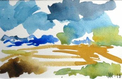 Målning av Jane Hansare.