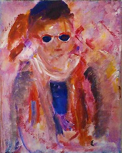 Målning av Renée Karlsson.